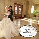 decoração de casamento personalizado nuvem padrão pista de dança decalque (mais cores)