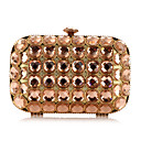 Metal Wedding/Special Occasion Clutches/Evening Handbags(More Colors)
