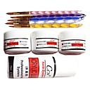 9PCS Acrylic Nail Art Suit(5 Acrylic pen&3 Arcylic Powder&Arcylic Liquid)