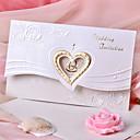 Invitasjonskort Bryllupsinvitasjoner Tri-Fold Ikke-personalisert 50 Stykke/Sett