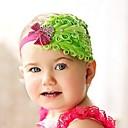 Headwear flor pena de cristal Infantil Faixa de Cabelo Headband