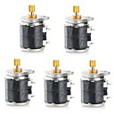 Jtron Two-Phase Four-Wire 6mm  Micro Stepper Motor  (5 PCS)