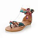 Zapatos de mujer - Tacón Plano - Comfort - Sandalias - Vestido / Casual - Semicuero - Negro / Azul / Amarillo