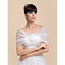 Personalized Nice Sleeveless Organza Evening/Wedding Shawl(More Colors)