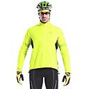 MYSENLAN Fluorescent Green Windproof Waterproof Cycling Jacket