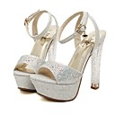 Shimandi Sparkling Glitter Women's Stiletto Platform Heels Shoes(More Colors)