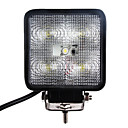 15W 1200LM 6000K White Light Led Car Work Light Waterproof Flood Beam Lamp (DC9-32V)