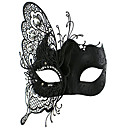 Fairy Style masque de papillon Black Metal mascarade de Halloween