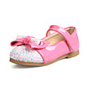 Synthetic Girls' Flat Heel Mary Jane Flats with Bowknot Shoes(More Colors)