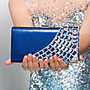 Polyster Wedding/Special Occasion Clutches/Evening Handbags With Rivet And Rhinestones(More Colors)