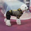 Pet Fashion Lovely Sweet Grid Coat for Pets Dogs (Assorted Sizes)