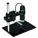 Digital Microscope Industrial Magnifier 300X 8LED with Camera Stand USB BTY