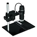 microscopio digital lupa industrial 300x 8LED con cámara soporte usb bty