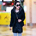 Women's Korea Sheath Hoodie Sheath Elegant Cotton Coat