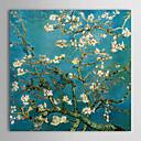 peintures à l'huile sur toile amande branches en fleurs remyc.1890 san par vincent van gogh prêt à accrocher peints à la main