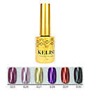 1pcs kelisi gel de color ultravioleta de metal profesional no.25-30 (12 ml, color clasificado)