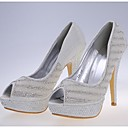 Women's Wedding Shoes Heels/Peep Toe Heels Wedding/Dress/Party & Evening White