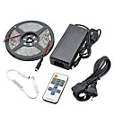 90W 7500LM 300x5630 SMD LED Warm White Light LED Strip Light Kits(DC 12V)