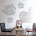 wall stickers Vægoverføringsbilleder, moderne mursten mursten tekstur egenskaber PVC Wall Stickers