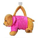 diseño del perro juguetes de peluche bolsa de mano suave (color al azar)