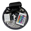 ZDM™ 5M 300X3528 SMD RGB LED Strip Light and 24Key Remote Controller and 2A EU Power Supply (AC110-240V)