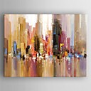 Oil Painting Modern Abstract Landscape Hand Painted Canvas with Stretched Framed