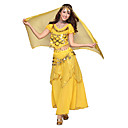 Belly Dance Dancewear Women's Chiffon Tassels Outfits Including Top, Skirt, Belt, Gauze Kerchief(More Colors)