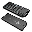 Rii Mini V3   2.4G Wireless Keyborad With/ Touchpad / Laser Pointer / Backlight - Black