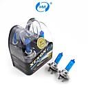 HM® faros lámpara halógena de 55w 12v bombillas blancas h7 plasma xenón (un par)