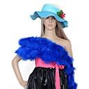Colourful Turkey Feather Boa For Carnival Accessories