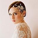 Dame Perle/Rhinestone/Krystall/Gull Headpiece Bryllup Blomster Bryllup