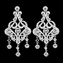 Chandelier Earrings Women's Cubic Zirconia/Alloy Earring