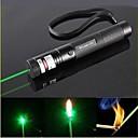 ls319 G301 fokus brænde synlig stråle pen laser grøn laser pointer (5mW, 532nm, sort)