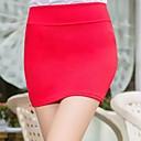 Faldas (Algodón Mezclado) Mini - Medio - Estilo