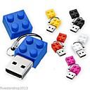 Toy Bricks Cartoon 1GB USB 2.0 Flash Pen Drive