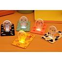 energibesparende ideer bedside kort lille nat lys (tilfældig farve)