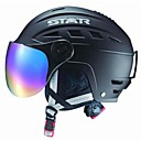 Star Fall/Winter ABS Ski/Snowboard Helmet with Sun Glasses