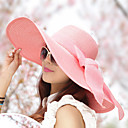 Women Vintage/Casual Summer Straw Floppy Hat