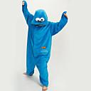 nuovo cosplay®unisex carino blu strada sesamo polare pigiama in pile kigurumi (senza scarpe)