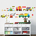 Wall Stickers væg decals stil tegneserie bil pvc wall stickers