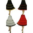 Déshabillés ( Filet de tulle/Taffetas/Elasthanne/Lycra/Tulle , Blanc/Noir/Rouge/Orange ) - Robe trapèze/Robe de soirée longue - 3 -66cm/