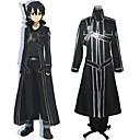 Cosplay Costumes - Sword Art Online - Kirito - Casaco / Camisa / Calças / Luvas / Cinto
