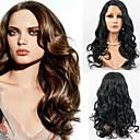 De cheveux en dentelle pleine perruques de style 22inch Cheveux ondulés humaine malaisiens vierge de cheveux 100% cheveux humains