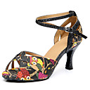 Customizable Women's Dance Shoes Latin Leatherette Stiletto Heel Other
