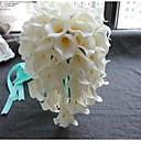 Bouquets(Weiß,Polyester / Satin) -Wasserfall