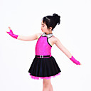 Robes (Comme l'image , Elasthanne/Satin/Paillété , Danse moderne/Jazz/Spectacle/Costumes de Pom-Pom Girl)Danse