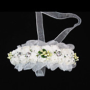 Flower Girl's Tulle Paper Headpiece-Wedding Special Occasion Casual Headbands