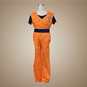 Inspirado por Bola de Dragón Son Goku Animé Disfraces de cosplay Trajes Cosplay Retazos Manga CortaChalecos Pantalones Pulsera Cinturón