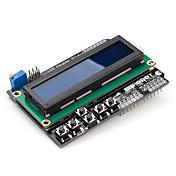 Arduino Uno Mega Duemilanove 用 16 x 2LCDキーパッド・シールド