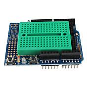(Arduinoのための)のためのミニブレッドボード(protoshield)とのプロトタイプシールド